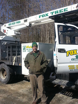 Adam Clifford of Fox Tree and Landscape Services