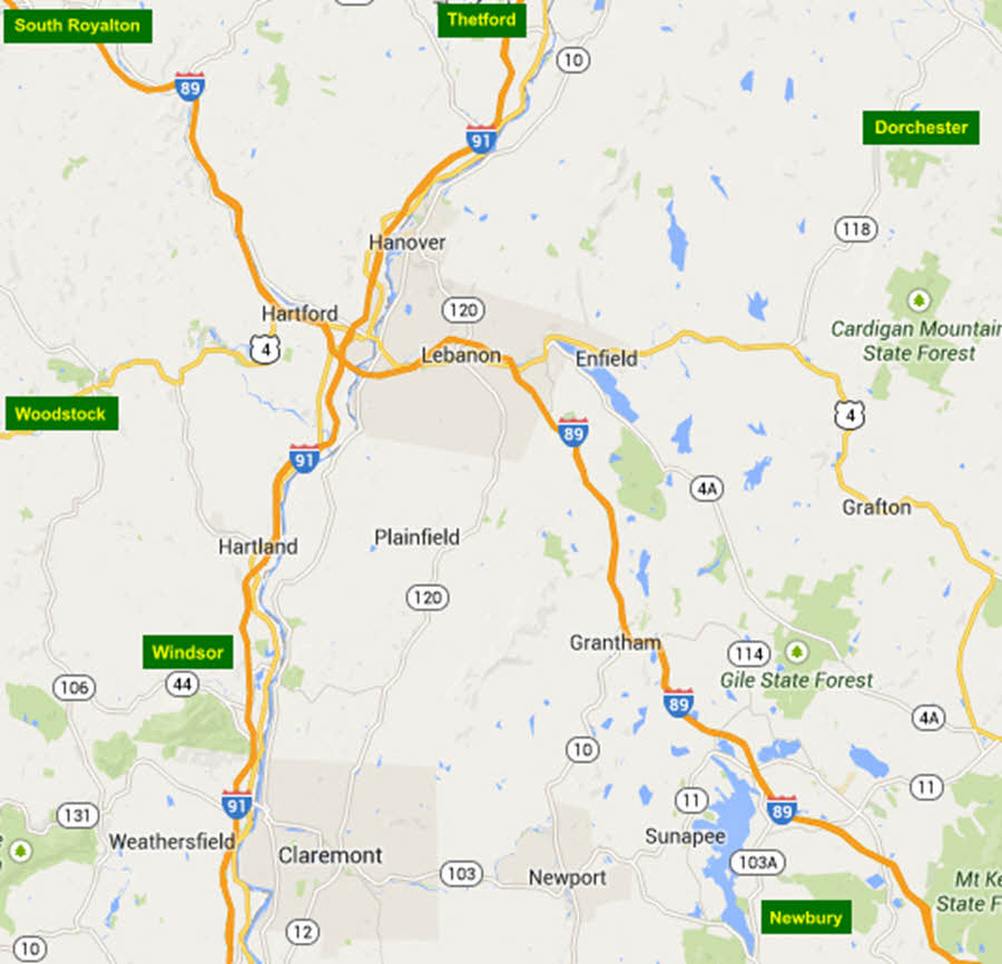 Fox Tree and Landscape Services - Service Area Map