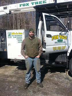 Jonathan Fox of Fox Tree and Landscape Services